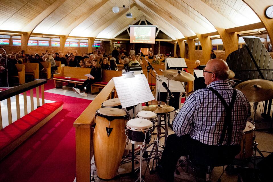 Praise Team Rehearsal, Sanctuary