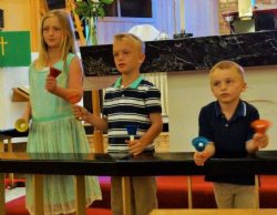 Children's Choir and Handbells ages 3 - 2nd grade, Room 2D
