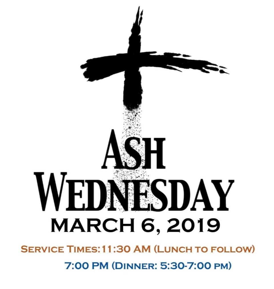 Ash Wednesday Service, Sanctuary