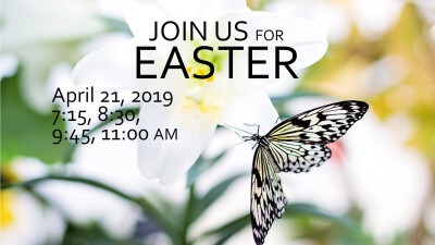 Join us for Easter