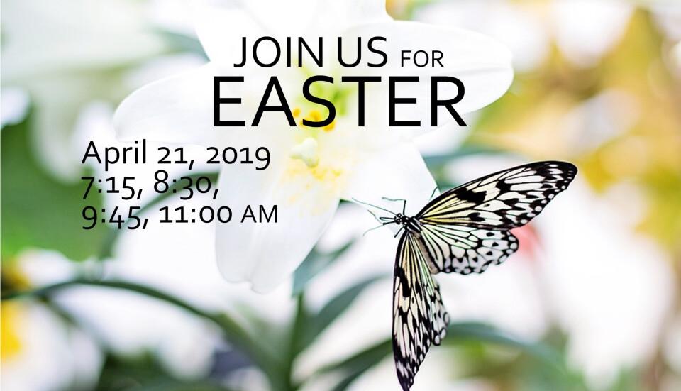 Easter Sunday Worship 7:15 am