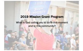 Apply for a 2019 Faith Mission Grant