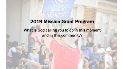 Apply for a 2019 Faith Mission Grant