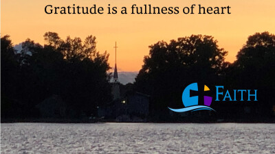 Gratitude is a fullness of heart