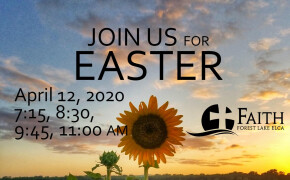 Join us for Easter April 12