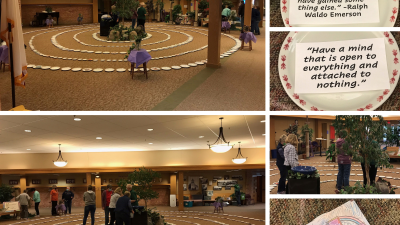 Indoor Lenten Labyrinth