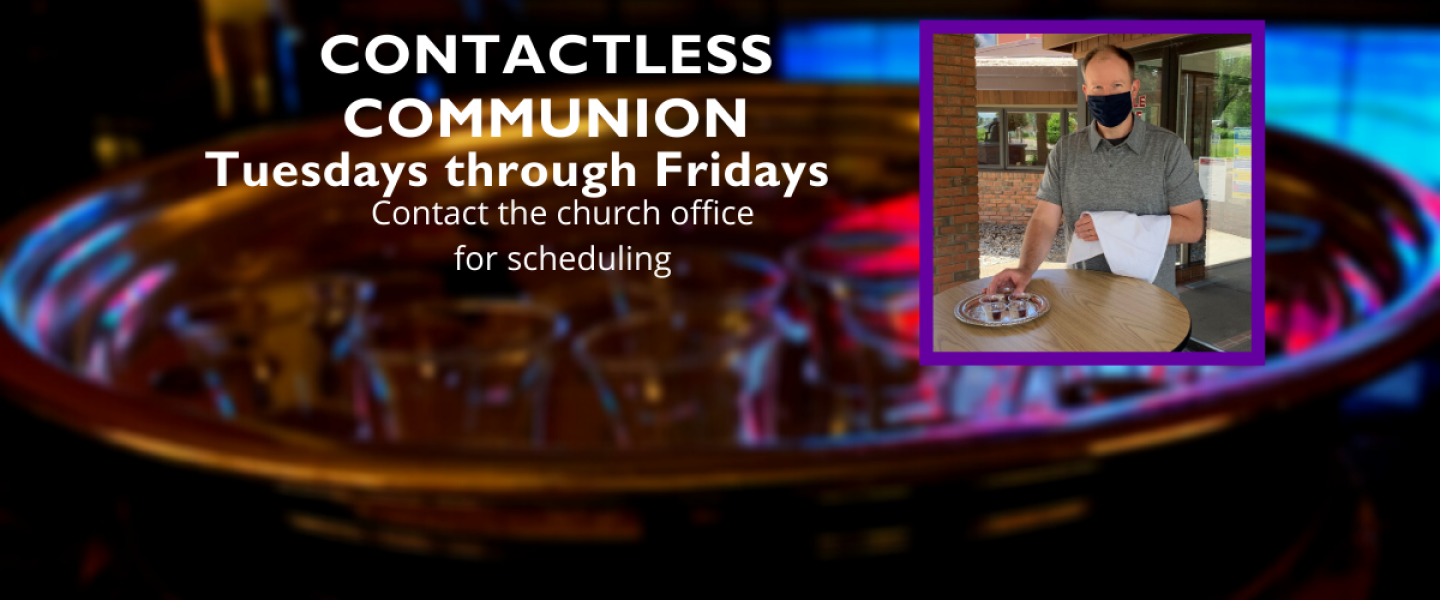 Contactless Holy Communion